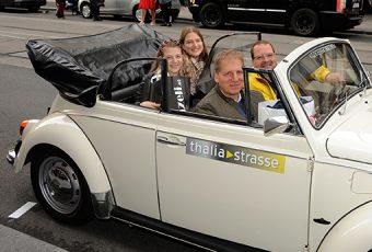 Volkswagen VW Käfer Käferticket IG Thaliastrasse Thaliastrße