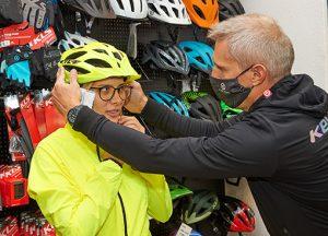 IG Thaliastrasse Sturzhelm Fahrrad bei Pedalus IG Thaliastrasse