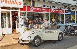 Oldtimer Käfer IG Thaliastrasse Gewinnerin