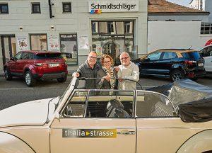 VW Käfer Oldtimer bei der IG Thaliastrasse